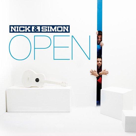 CD cover van Nick & Simon - Open van Nick & Simon