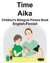 English-Finnish Time/Aika Children's Bilingual Picture Book