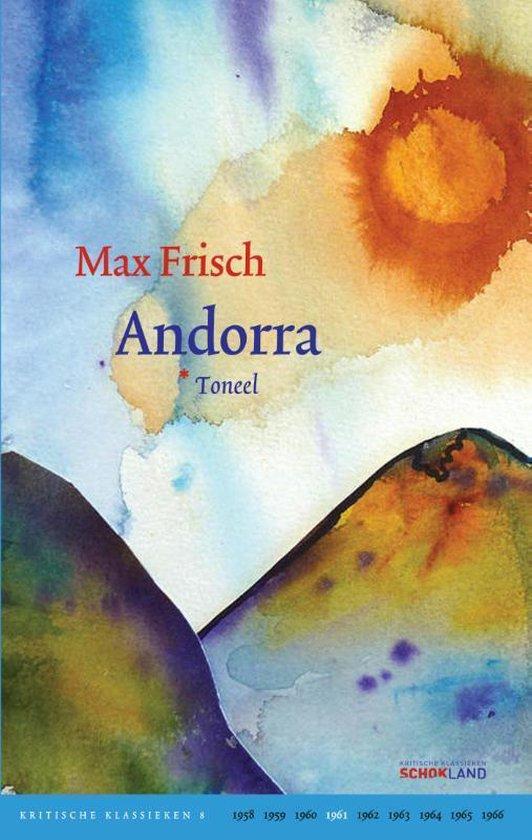 Kritische Klassieken 8 - Andorra - Max Frisch | Readingchampions.org.uk