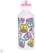 Uatt Squeeze Uil - Drinkfles - Multicolor