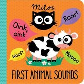 Boek cover Milos First Animal Sounds van Rowena Blyth