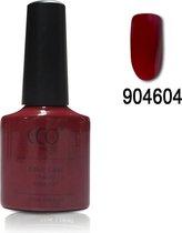 CCO Shellac - Scarlet Letter 904604 - Klassieke Donkerrood- Gel Nagellak