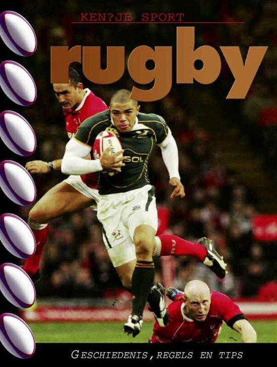 Boek cover Ken je sport  -   Rugby van Andy Smith (Hardcover)