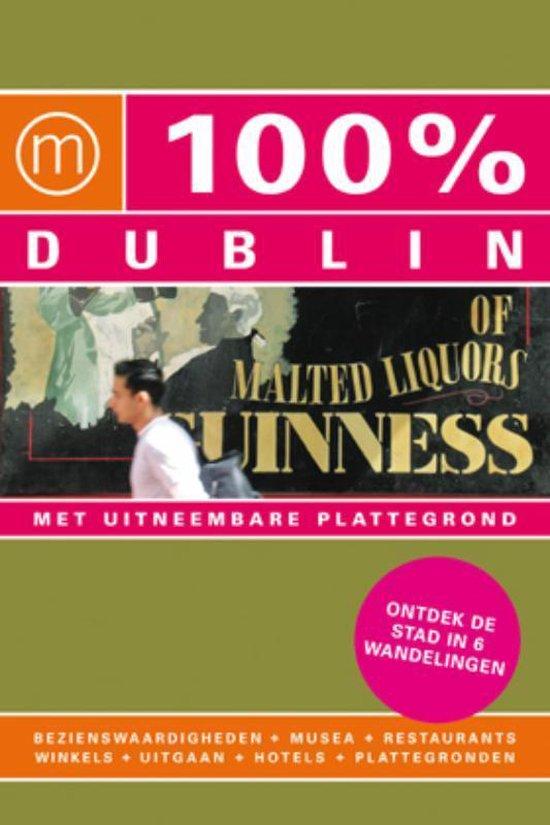 Cover van het boek '100% Dublin' van D. Lenferink
