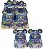 Disney Tsum Tsum Squishies 4 pack, 1 stuks