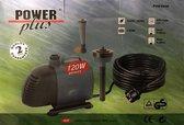 Fontein / Vijverpomp / circulatiepomp PROMO 120 Watt (extra power) - 4800L/H - met hulpstukken