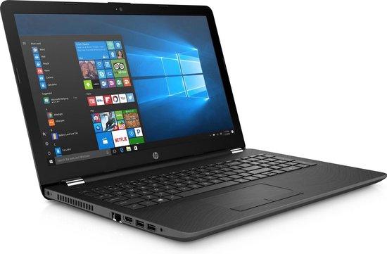HP 15-bs172nd Notebook Grijs 39,6 cm (15.6'') 1920 x 1080 Pixels Vijfde generatie Intel® Core™ i3 8 GB DDR3L-SDRAM 256 GB SSD Wi-Fi 4 (802.11n) Windows 10 Home