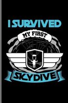 I Survived My First Skydive