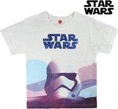 T-Shirt met Korte Mouwen voor kinderen Star Wars 2191 (maat 8 jaar)