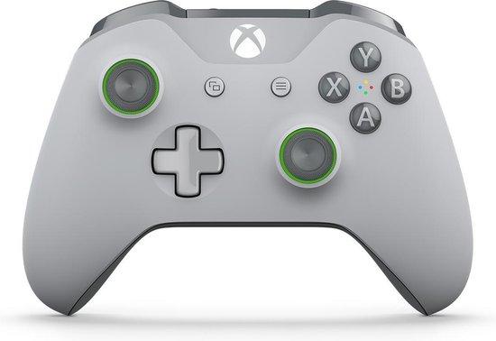 Xbox One Draadloze Controller - Grijs & Groen