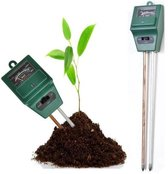 Bodemtester / PH-Meter / Bodem Meter / 3-in-1 Functionaliteit
