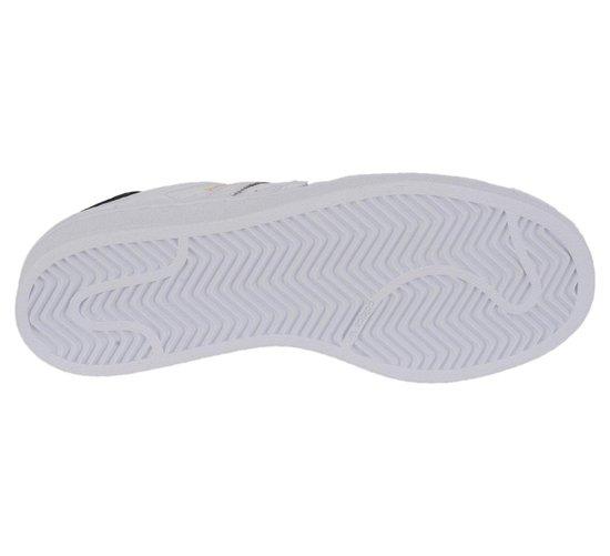adidas Superstar Junior Sneakers  Sportschoenen - Maat 37 1/3 - Unisex - wit/zwart