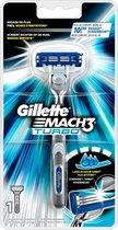 Gillette Mach3 Turbo Scheersysteem - Scheermes