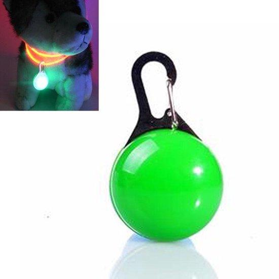 Veiligheidslampje Voor Halsband - Dierenlampje - Groen