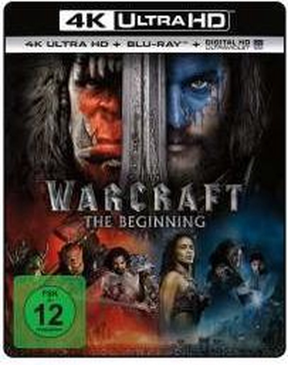 Warcraft: The Beginning (Ultra HD Blu-ray & Blu-ray)-