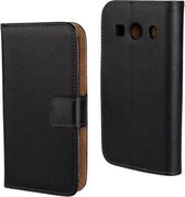 Genuine Split wallet case Samsung Galaxy Ace 4 (G357)