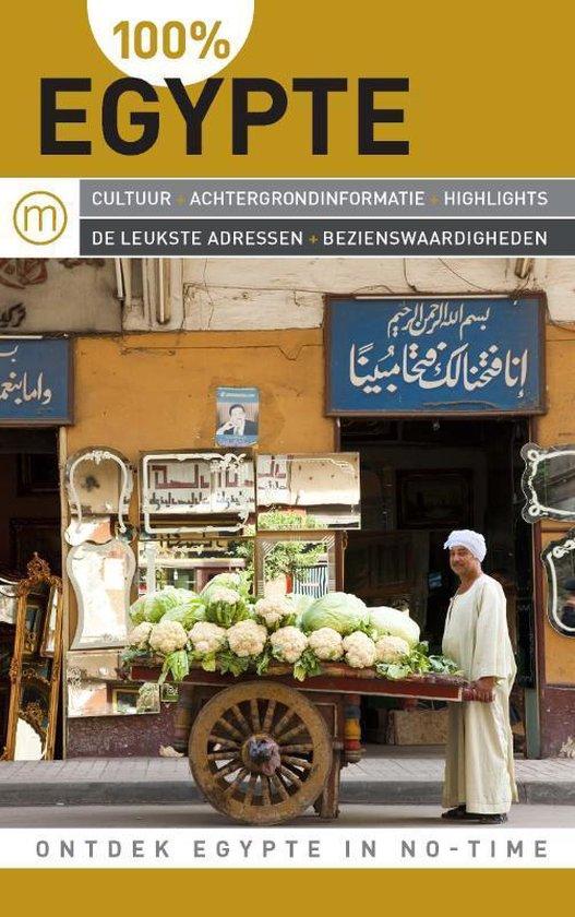 Cover van het boek '100% Egypte' van L. Alkaer