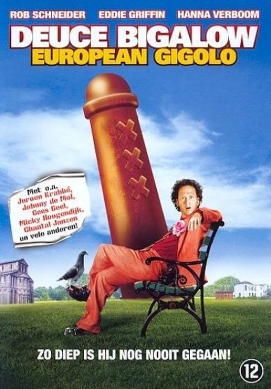Cover van de film 'Deuce Bigalow - European Gigolo'