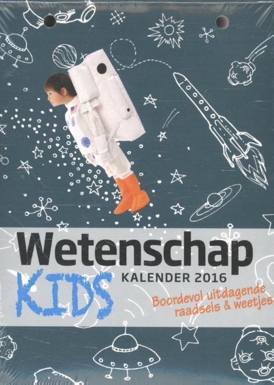 Wetenschap scheurkalender kids 2016