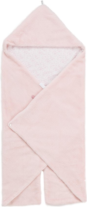 Snoozebaby Wikkeldeken Trendy Wrapping (80x80cm) roze