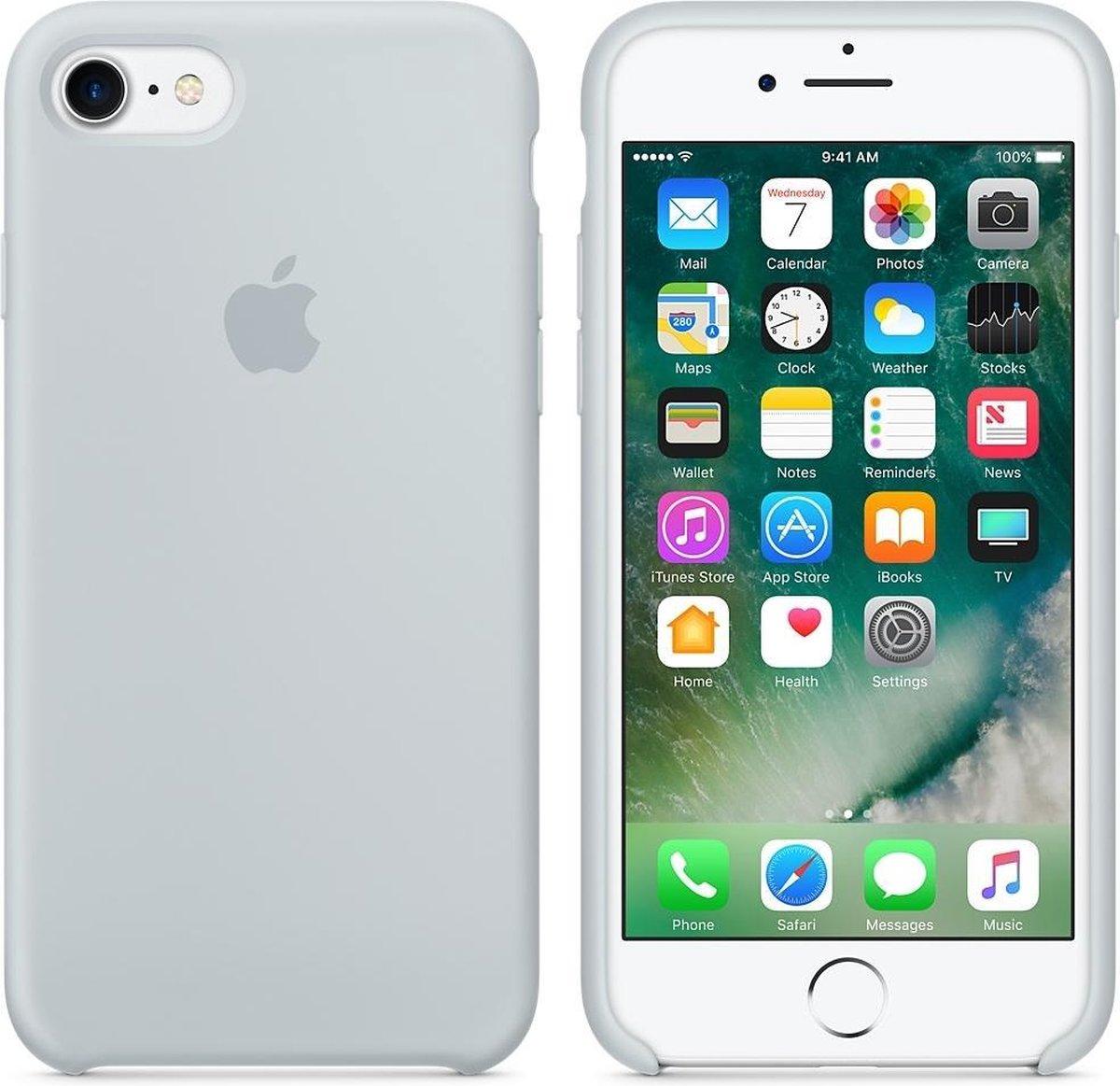 Apple Siliconen Hoesje voor iPhone 7/8 - Lichtblauw