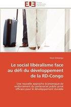 Le Social Lib�ralisme Face Au D�fi Du D�veloppement de la Rd-Congo