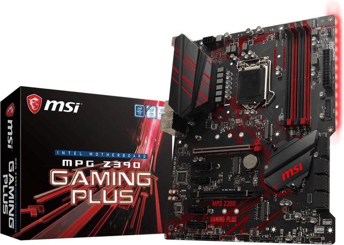 MSI MPG Z390 Gaming Plus Intel Z390 LGA 1151 (Socket H4) ATX