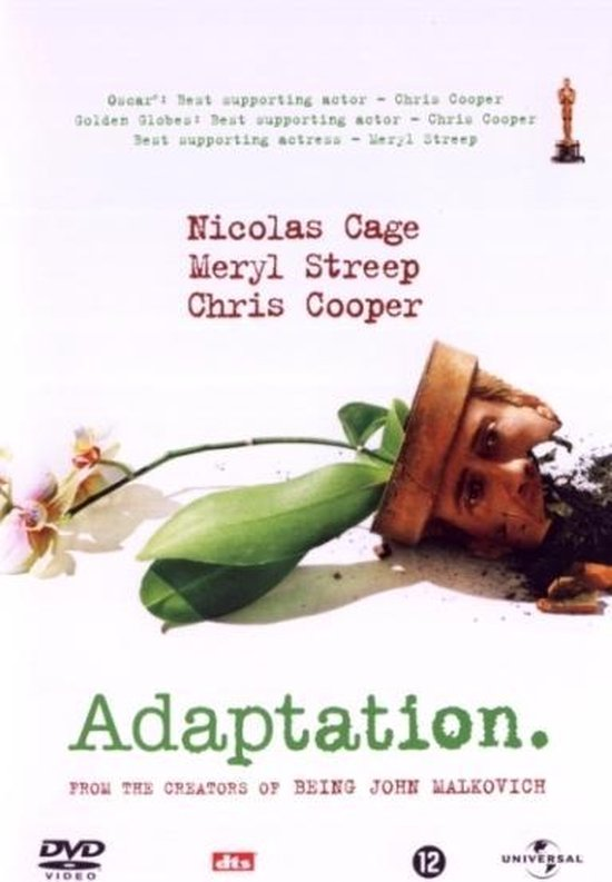 Cover van de film 'Adaptation'