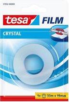 tesafilm® Crystal plakband, transparant, sterke kleefkracht, 33m:19mm