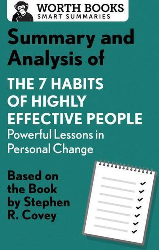 Afbeelding van Summary and Analysis of 7 Habits of Highly Effective People: Powerful Lessons in Personal Change