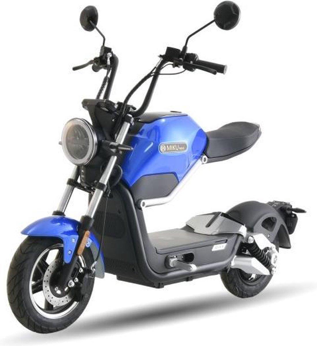 Ecruiser Miku Max   Blauw   Elektrische Brommer