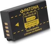 PATONA battery for Nikon 1J1 EN-EL20 1 J-1 J1 ENEL20