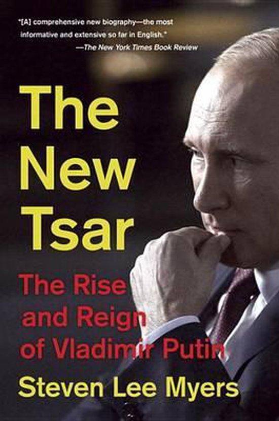 Boek cover The New Tsar van Steven Lee Myers (Paperback)