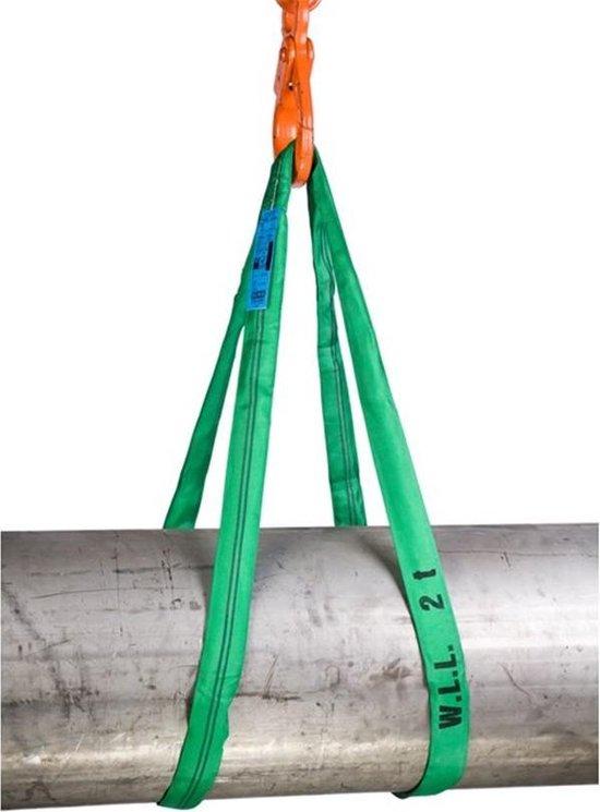 Rema rondstrop groen - S5-PE 2000kg - 1,5 meter