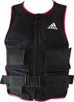 adidas Gewichtsvest - Large - 10.7 kg - Zwart/Rood