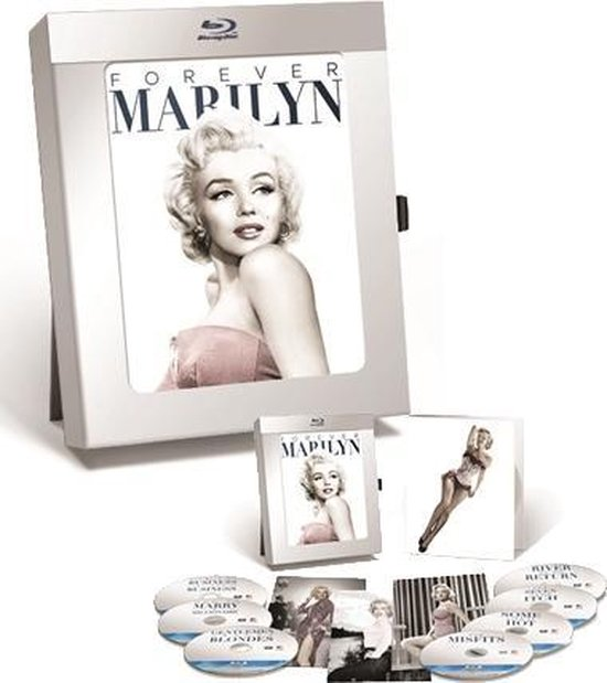 Cover van de film 'Marilyn 50th Anniversary Collection'