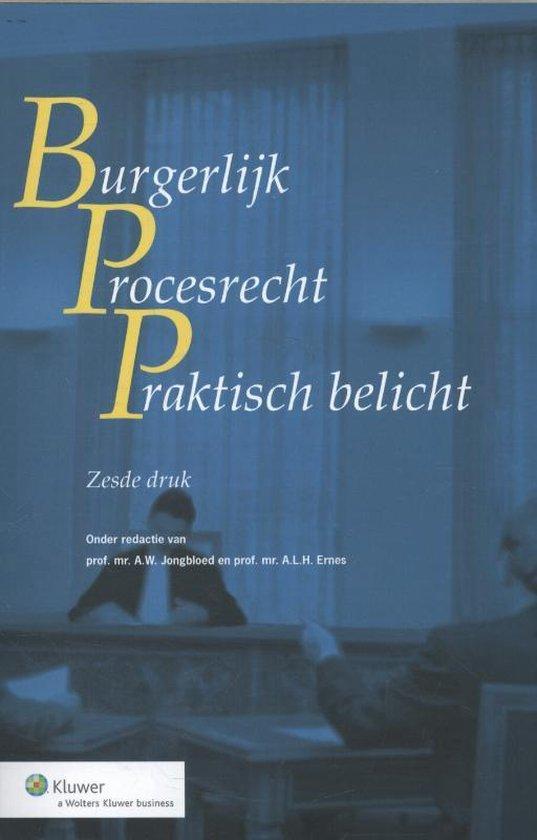 Burgerlijk procesrecht praktisch belicht - none pdf epub