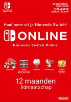 Cover van de game 12 maanden Online Lidmaatschap - Nintendo Switch