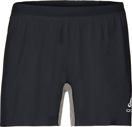 Odlo Hardloopbroek Zeroweight X-Light Shorts - Black - XXL