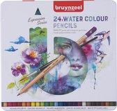 Bruynzeel Expression blik 24 aquarelpotloden met penseel