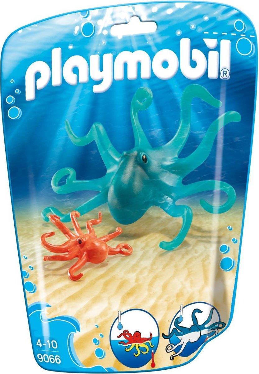 Playmobil Family Fun: Inktvis Met Jong (9066)