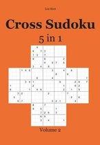 Cross Sudoku 5 in 1
