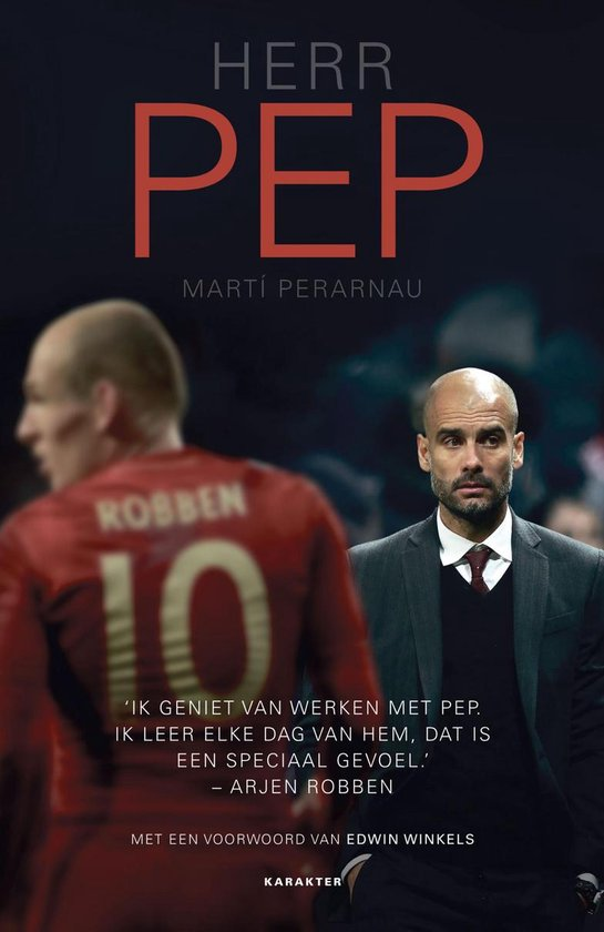 Boek cover Herr Pep van Marti Perarnau (Onbekend)