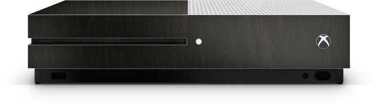 Xbox One S Console Skin Wood Donker