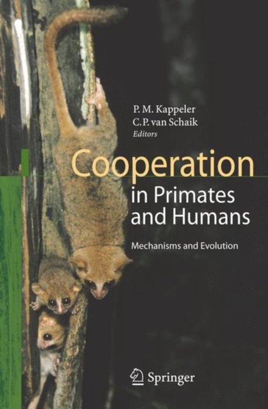 Boek cover Cooperation in Primates and Humans van Peter M. Kappeler (Hardcover)