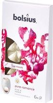 Bolsius True Scents Wax Melts - Pure Romance - 6 stuks
