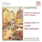 Martinu: Works For Cello&Piano