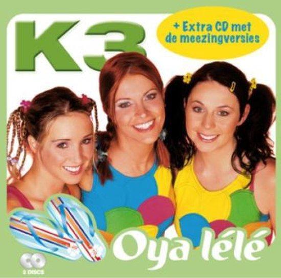 CD cover van Oya Lele van K3