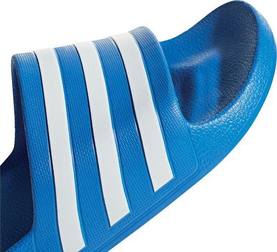 adidas Adilette Aqua Heren Slippers - True Blue/Cloud White/True Blue - Maat 43