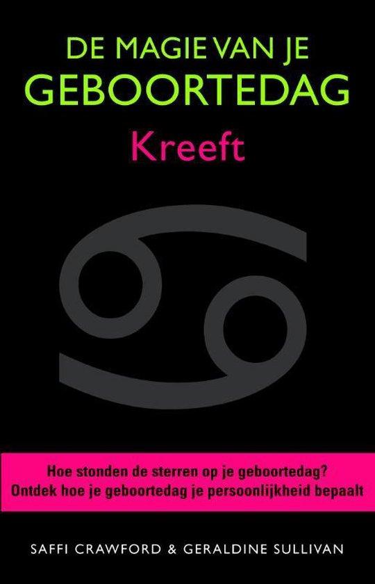 Boek cover De magie van je geboortedag  / Kreeft van Saffi Crawford (Hardcover)